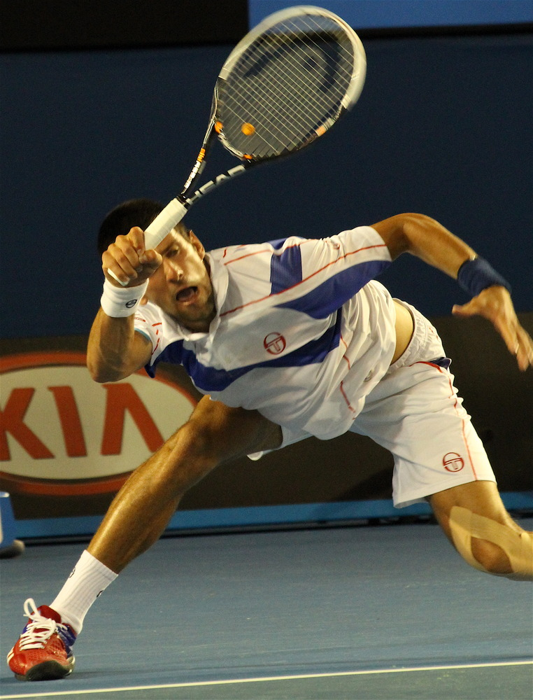 SPORTS: Djokovic not joking, wins Australian Open